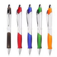 Buy cheap Plastic ball pen with rubber grip from wholesalers