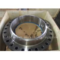 Buy cheap Non - Standard Or Customized Stainless Steel Flange PED Certificates ASME / ASTM-2013 from wholesalers