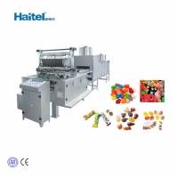 Buy cheap Soft Fruit Jelly 150kg/H Sugar Candy Making Machine from wholesalers