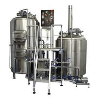 500l Beer Production Line Parts Beer Brewing Equipment For Pub Manufactures