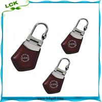 Buy cheap Promotion Customized Logo Genuine Leather/PU Leather Car Keychain/Key chain With Gift-LK-A001 from wholesalers