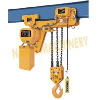 Buy cheap 7.2 m / Min Max Lifting Speed 10 Ton Electric Chain Hoist For Single / Double Speed from wholesalers