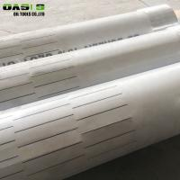 Buy cheap Water / Oil Reservation Layer Slotted Pipes For Borewell Easy To Operate from wholesalers