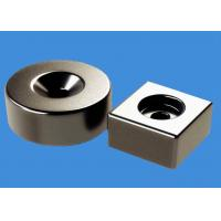 Buy cheap Customized Ring Magnets Block Magnets 20 mm Countersunk Hole Magnets from wholesalers