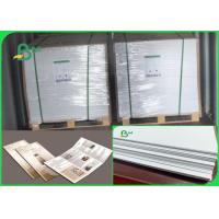 Buy cheap Size Customized No Fluorescent Additives 60 70 Gsm Wood Pulp Offset Paper from wholesalers