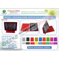 Wholesale PMS Colors Detachable New iPad Silicone Cases With Mini DIY Puzzle Supplier in China from china suppliers