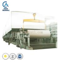 Buy cheap Paper factory waste paper recycling machine 1092mm Kraft Paper Machine export India from wholesalers