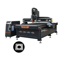 Buy cheap 1600W 24000rpm CNC Router Cutting Machine Computer Controlled from wholesalers