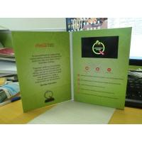 Buy cheap 7 10 Lcd Video Book Flower Theme For Business Advertisement / Gift from wholesalers
