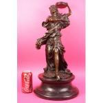 Buy cheap art deco Chiparus dancers bronze dancer sculpture TPX-2003 from wholesalers