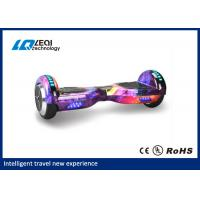 Low Consumption Smart Electric Self Balancing Scooter 8 Inch For Short Distance Cruise