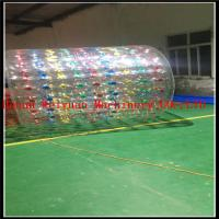 Buy cheap summer hot inflatable water roller zorb ball  2.2M  with custom color PVC1.0mm material from wholesalers