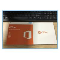 Buy cheap Genuine Key Card Microsoft Office 2016 Professional RETAIL BOX SKU-269-16808 from wholesalers