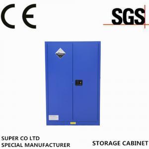Double Door Hazmat Nitric Corrosive Storage Cabinet With 50mm