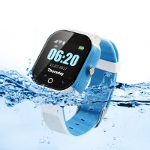 Buy cheap 450mAh Smart SOS Panic Button Kids Gps Tracker Watch 1.30 Display from wholesalers
