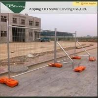 Buy cheap AS4687 Standard Temporary Event Fencing 2.4 x 2.1m With Plastic Feet And Clamps from wholesalers