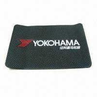 Wholesale Coaster/Cup Pad, Made of Eco-friendly PVC, Measures 170 x 110 x 3mm from china suppliers