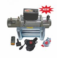 Buy cheap 12V / 24V DC 12000 LB Heavy Duty Electric Winches / Off road Winch from wholesalers