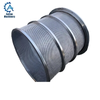 Wholesale Paper Recycling Pressure Screen Basket Stainless Steel Centrifuge Screen Basket from china suppliers