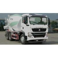 Buy cheap Sinotruk HOWO Small 5CBM Mixer Cement Truck With Bonfiglioli Speed Reducer from wholesalers
