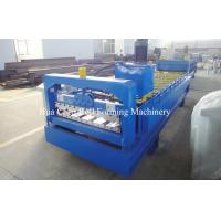 Buy cheap Auto Color Steel Roofing Sheet Metal Roll Forming Machines / Equipment In Plant from wholesalers
