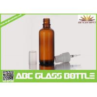 China Supplier  Big Sell 100ml Amber Glass Bottle Essential Oil Use