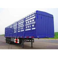 Buy cheap Double Coin Tyre Fuwa Axle Fence Stake Cargo Truck Trailer High Wall Animal Transport Trailer to Vietnam from wholesalers