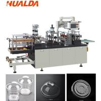 Buy cheap CE Approved Cup Lid Forming Machine 3 Kilowatt Motor Power Easy Operation product