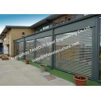 China Commercial Shop Front Polycarbonate Transparent Slat Shutter Door Aluminum Roll Up Security Doors on sale