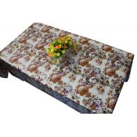 Buy cheap Floral Printed Fabric Table Cloth from wholesalers