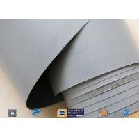 Buy cheap 7628 320g Waterproof PVC Coated Fiberglass Fabric For Flexible Air Ductwork from wholesalers