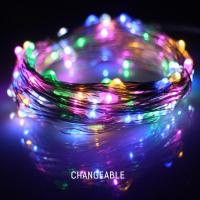 Buy cheap Warm White Battery Operated LED String Lights Hanging LED Party String Lights from wholesalers
