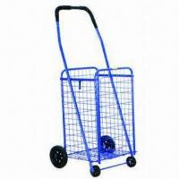 Wholesale 94 x 47 x 36cm Shopping Cart/Luggage Trolley with Bag, 9cm Front and 14cm Back Wheel Diameter from china suppliers