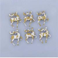 Buy cheap Cute Deer Christmas Party Crafts Small Childrens Christmas Decorations from wholesalers