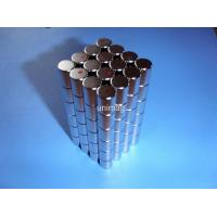 Buy cheap cylinder sintered ndfeb magnetic with high coercive force for speakers from wholesalers