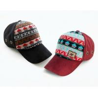 Quality wholesale blank sport  caps with for 100% cotton black&res Fashion personalized winter sex hats56-58cm for factory china for sale