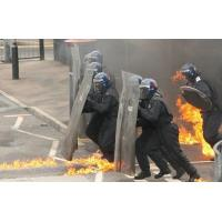 Buy cheap custom round fiber-reinforced police riot shield with electric shock from wholesalers