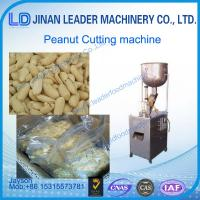 Buy cheap High efficiency automatic peanut cutting machine for butter use from wholesalers