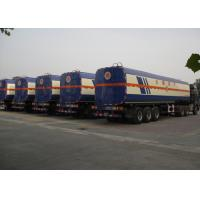 Buy cheap CIMC tank trailer 50000 liters stainless steel alcohol semi tank trailer 42000 liter fuel tanks for sale from wholesalers