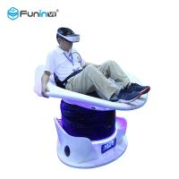 Buy cheap Slider Star Twin Seat 9D VR Simulator Machine Blue / White Color 354kg Weight from wholesalers