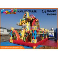 Wholesale Outdoor Inflatable Bouncer Slide / Spiderman Action Air Jumping Castle from china suppliers