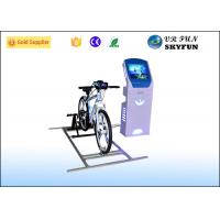 Wholesale Blue 9D VR Virtual Cycling Simulator , Healthy Fitness Exercise Virtual Spin Bike from china suppliers