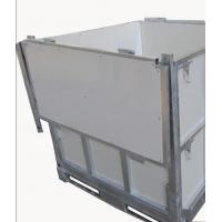 Buy cheap Foldable IBC 1000 Liter Container / Ibc Water Container 1.0mm White Coated Steel Panel from wholesalers