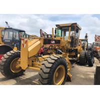 Buy cheap Used Caterpillar 140h Motor Grader Japan Grader 123KW With 6 Cylinder from wholesalers