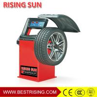 Buy cheap Car Workshop Equipment Semi Automatic 220V Wheel Balancer Machine with CE Certificate from wholesalers