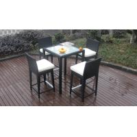 Buy cheap Luxury All Weather Resin Wicker Bar Set For Home Patio / Balcony from wholesalers