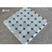 Wholesale Big Octagonal Assorted Mosaic Tile Sheets , Decorative Stone Mosaic Floor Tile from china suppliers