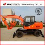 Buy cheap Wolwa 8t DLS890-9A Wheeled Sugarcane Wood Loader, Grab Loader, Sugarcane Loader from wholesalers