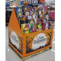 Buy cheap Tiered Cardboard Magazine Display , Floor Stand Pop Display from wholesalers