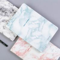 Buy cheap Gold Lettering Writing Journal Notebook A5 Size 120 Pages Elegant Marble Cover from wholesalers